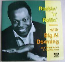 BIG AL DOWLING Rockin n Rollin LP Bobby Brant & the Poe Cats Down on The Farm NM
