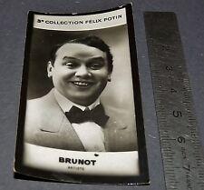 PHOTO IMAGE FELIX POTIN 3ème ALBUM 1920  BRUNOT ARTISTE