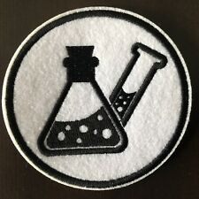 "CHEMISTRY Patch - Embroidered Iron On Patch 3 "" CHEMICAL"
