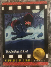 1993 SKYBOX MARVEL X-MEN SERIES 2 THE SENTINEL STRIKES! #92 ANIMATED TV SERIES