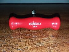 Vintage Beefeater Gin Wood Advertising Corkscrew