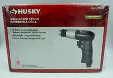 "New Husky Reversible Air Drill 3/8"" Keyed Chuck 1003-097-319 Pneumatic Tool"