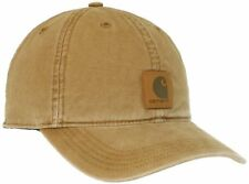NEW Carhartt Mens Odessa Cap Brown One Size FREE SHIPPING