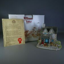 """Lilliput Lane Cottages """"The Greengrocers"""" Village Shops Collection w/ Box & Deed"""