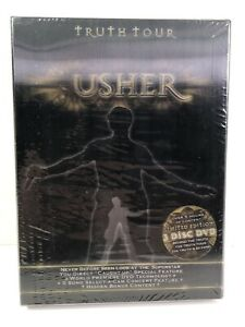 NEW Truth Tour: Behind the Truth - Live from Atlanta by Usher DVD, 2005, 3 Disc