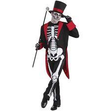 Bristol Novelty Ac437 Mr Bone Jangles Costume Red 44-inch