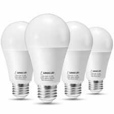 LOHAS LED Light Bulbs 100 Watt Equivalent, Daylight 5000K A19 LED Bulb , LED E26