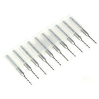 10PCS 1mm PCB CNC Print Circuit Board Carbide Micro Drill Bits Set Tool