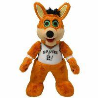 "San Antonio Spurs  Coyote 10"" Mascot Plush Figure : Bleacher Creatures"