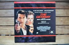 THE GETAWAY A.Baldwin K.Bassinger  NEW LaserDisc FREE Post mmoetwil@hotmail.com