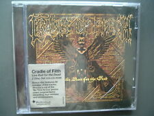 Cradle of Filth-Live Bait for the Dead, nuovo OVP, CD & CD ROM, 2002