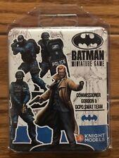 Batman Miniature Game: Commissioner Gordon & GCPD SWAT Team 2nd Edition Resin