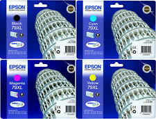 4x EPSON ORIGINAL 79 XL Tinte PATRONEN WF5110DW WF5190DW WF5620DWF WF5690DWF Set