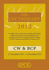 The Lectionary 2012 - Common Worship and Book of Common Prayer, 0281064407, New