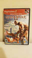God Of War PS2 Playstation 2 Game Complete W/ Manual Original