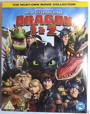 HOW TO TRAIN YOUR DRAGON 1 & 2 Brand New Sealed 2-Movie BLU-RAY Set One Two 1-2