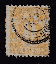 J150 Japan 1872 used Crest and Kiri Branches Sc#11