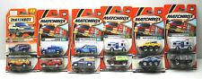 12pc 1990s Matchbox Diecast Vehicles Police Armored Cars Trucks Vans NOC