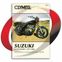 1978-1982 Suzuki GS750E Repair Manual Clymer M370 Service Shop Garage