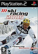 GIOCO SKI RACING 2005 IN ITALIANO PS2 CON MANUALE IN OTTIME CONDIZIONI