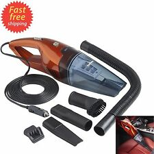 Vacuum Cleaner For Car Dry And Wet Suction Vac Handheld Hand Portable 12V Duster