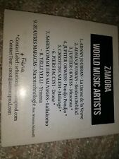 Womex compilation 2016 9Tk CD Zamora world music artists Adnan joubran Okwess