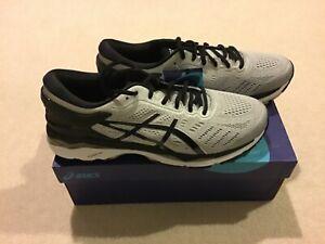 New Asics men gel kayano 24 size 10.5 (2E) running shoe silver black mid grey