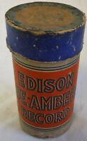 Antique 1913 EDISON CYLINDER Wax Record 1712 DARKY SCHOOL DAYS ~ Vaudeville