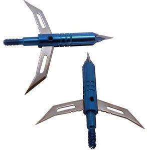 3pcs 100Grain 2 Blade Broadheads Hunting Archery Arrow Heads Points for Shooting