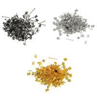 600 Pack 4mm Earring Posts and Backs in Jewelry Making DIY Earring Findings