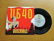 """UB40 Watchdogs / Don't Blame Me (Live) 1987 UK 7"""" VINYL SINGLE IN PICTURE SLEEVE"""