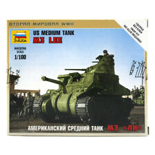 Zvezda US Medium Tank M3 Lee Military Model Set (Scale 1:100) 6264 NEW