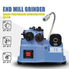 Endmill Sharpening Fixture Universal Endmill Grinder Machine Grinding Range 2 12
