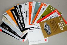 Istruzioni, Manual, PROIETTORE diapositive Leica, Zeiss, Zett, marrone, Kindermann, Reflecta, Rollei