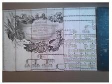 Tableau Généalogique et Chronologique de Maison Royale de France 1763 Clabault