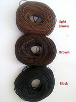 100% Real Genuine Leather Thong Cord- 1mm 2mm 3mm 4mm - Black or Brown (I,J)