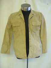 Ladies Coat - Style & Co., Petite size S, sand, 100% suede, lined, worn - 7754