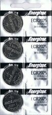4 New ENERGIZER CR2025 Lithium 3v Coin Battery Australia Stock