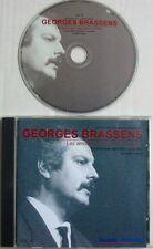 BRASSENS (CD)  ANTHOLOGIE CHANSON FRANCAISE VOL 4 LES AMOUREUX DES BANCS PUBLICS