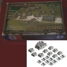 Dystopian Wars DWRF21 Republique of France Armored Battle Group Box Set Tanks