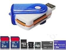 PENDRIVE USB 109.2cm 1 MULTI LETTORE SCHEDE DI MEMORIA SD MINI SDHC MS MIRO M2