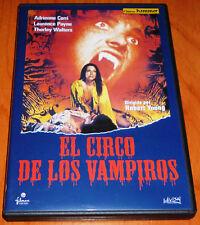 EL CIRCO DE LOS VAMPIROS / VAMPIRE CIRCUS - English Español DVD R2 - Nueva