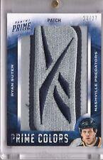 2013-14 13/14 Panini Prime Hockey Prime Colors Patch Ryan Suter /27 Reebok Tag