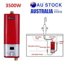 3500W Portable Instant Electric Hot Water Heater System Under Sink Tap Faucet AU