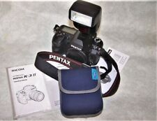 Pentax K-3 II 24.0MP Digital SLR Body + extras - only 6700 actuations