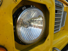Land Rover Defender Stainless upgrade headlight bezels/rims/surrounds 90/110 TDI