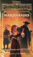 Masquerades Forgotten Realms 1995 Kate Novak Jeff Grubb Very Rare Book Free Post