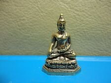 Holy Buddha Wealth Rich Luck Charm Thai Amulet