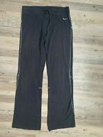 Nike Black Sweatpants Workout Yoga Stretch Bootcut Pants Women's Size Medium GUC