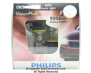 NEW Philips 9006 Vision Plus 2-Pack 9006VPS2 Bulb